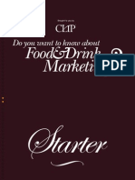 Want to know more about Food and Drink Marketing?