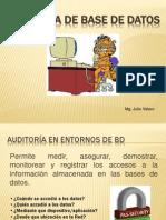Clase Auditoría BD