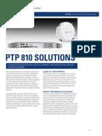 Datasheet Microwave Cambium 810