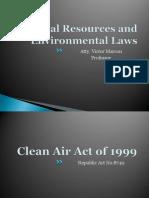 Environmental Law Clean air act
