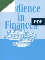 99211910 Obedience in Finances Kenneth E Hagin
