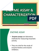 Enzyme Assay & Characterization