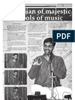 Custodian of majestic schools of music