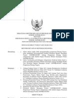 PMK2011-163 - Perubahan Kedua Atas PMK No.128-PMK.06-2007 Tentang Pengurusan Piutang Negara