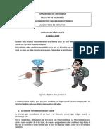Practica 4. Alarma Laser