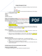 Strategic Management Project_RETAIL