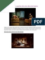 Características y partes de una obra de teatro