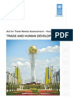 Kazakhstan aid for trade needs assessment
