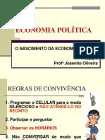 Aula 1_O Nascimento Da Economia Politica
