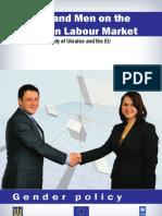 Women and men on the Ukrainian labour market