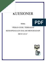 Cover Kuesioner