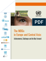 The MDGs in Europe and Central Asia