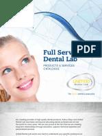 United Dental Lab - Full Service Dental Lab Booklet