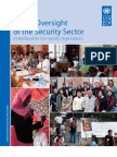 Public oversight of the security sector