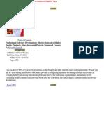 60580997 Professional Software Development
