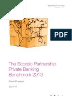 2013 Scorpio Partnership Global Private Banking Benchmark