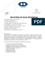 STA RITA _ RELATORIO AULA PRESENCIAL-ADM.doc
