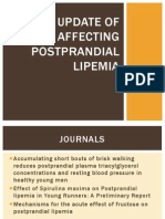 An Update of Factors Affecting Postprandial Lipemia
