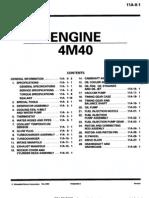 Engine 4M40