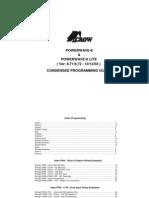 PW8 Version 8.71-8.72 Condensed