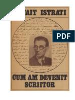 Istrati, Panait (Cum Am Devenit Scriitor)(v1.0)