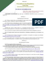 02 - LEI Nº 4.878 - REGIME JURÍDICO PECULIAR DOS FUNCIONÁRIOS POLICIAIS CIVIS DA UNIÃO E DO DISTRITO FEDERAL.