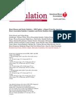 Heart Disease and Stroke Statistics