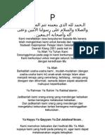 Doa Nadwah Pelajar 2001.doc