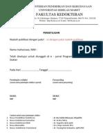Format Lembar Bukti Publikasi