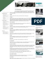 Properties of Aluminium - Aluminium Design