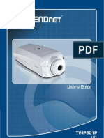 TrendNET camera UG_TV-IP501P(1.01)