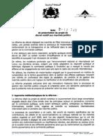 Projet Decret 2-12-349 Fr