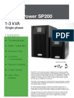 SP200 Brochure