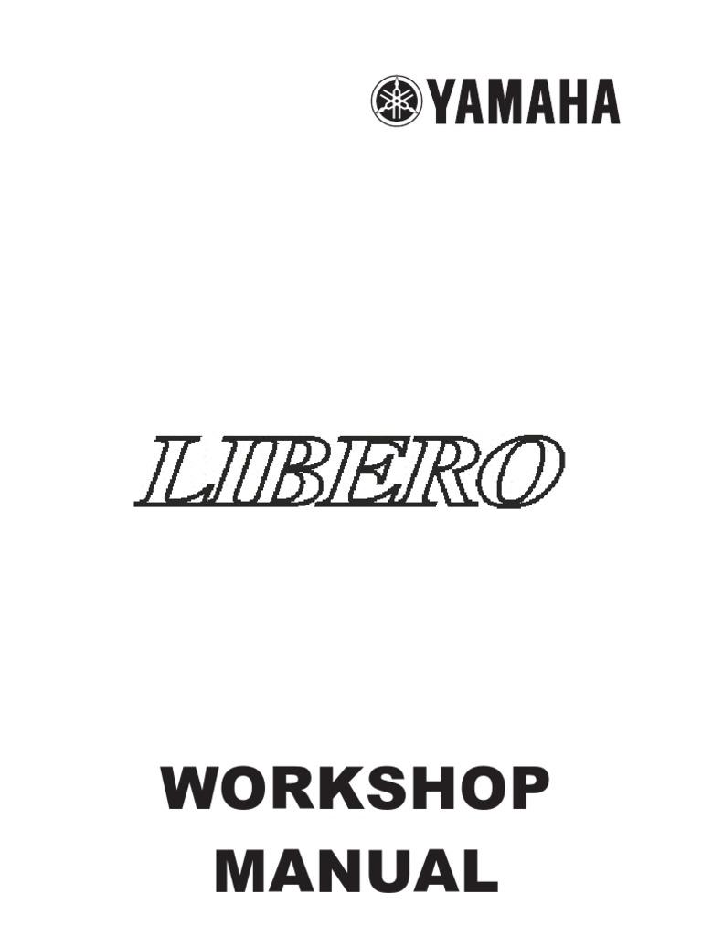 Yamaha Libero Wiring Diagram Data 110cc Atv Key Switch Screw Ignition System Olp