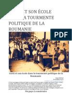 GUSTI ET SON ÉCOLE DANS LA TOURMENTE POLITIQUE DE LA ROUMANIE