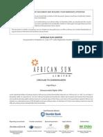 African Sun Circular Book