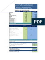 Detail Income Tax Calculator Financial Year 2012 2013