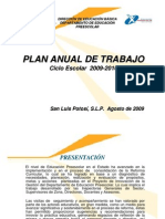 Ejemplo de Plan Anual de Trabajo Para Preescolar