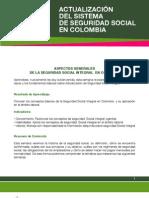 1 Aspectos Generales de Seguridad Social Integral en Colombia