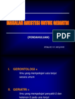 Helien-Masalah Anestesi Untuk Geriatri