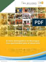 El Bono Demografico de Nicaragua