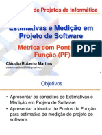 Apresentacao-Estimat Software PONTOS FUNCAO