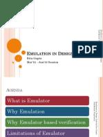 Emulator Based Verification Topic13