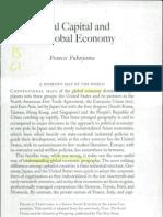 Fukuyama-social Capital and Globalization