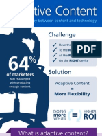 Adaptive Content [INFOGRAPHIC]