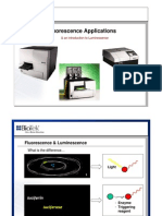 Fluorescence Applications and Intro to Luminescence