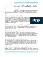 English Learners Fact Sheet