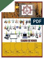 Cuadro de Honor 1er Grado