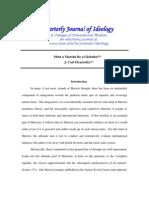 Ficarrotta, J. Carl 2006 'Must a Marxist Be a Globalist' QJI, Vol. 29, Nos. 3 & 4 (39 Pp.)