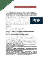 Carta de Agendamento2013